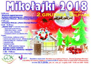 Mikołajki gminne 2018
