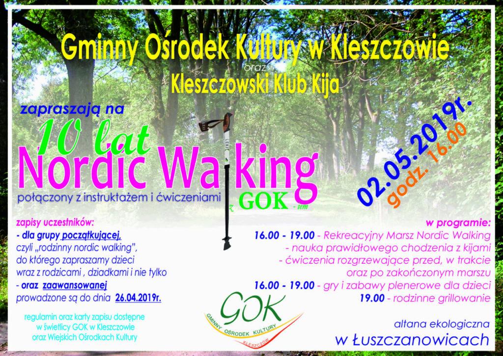 "Majówka z ""Nordic Walking"""