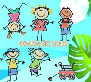 Wakacyjny rozkład zajęć w placówkach WOK i GOK 2019