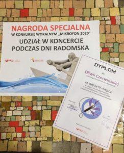 "Konkurs wokalny ""MIKROFON"""