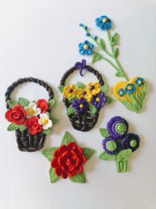 Upominek dla mamy: Modelinowe Kwiaty w różnych kompozycjach (warsztaty on-line).