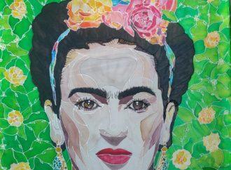 Malowanie na jedwabiu: Frida – inst. Renata Pawlicka (warsztaty on-line)