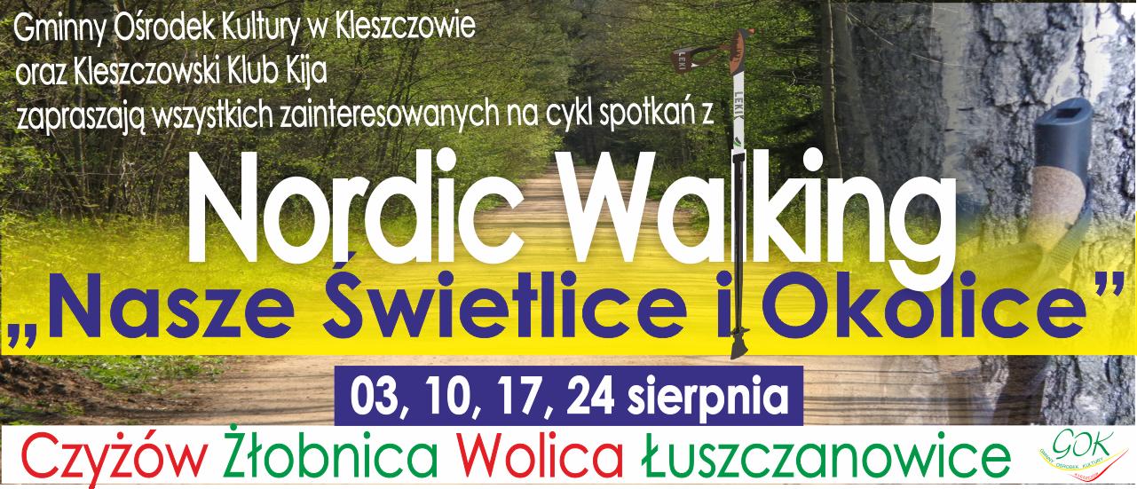 Nasze Świetlice i Okolice: Nordic Walking – ruszają zapisy!