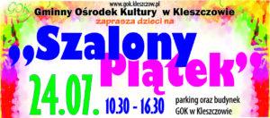 """""""Szalony Piątek w GOK"""" 24.07.2020."""