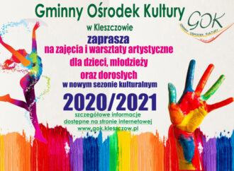 Zapisy na zajęcia i warsztaty artystyczne w roku 2020/2021