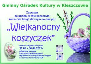 """Głosowanie rozpoczęte! – Konkurs fotograficzny pn. """"Wielkanocny Koszyczek"""""""