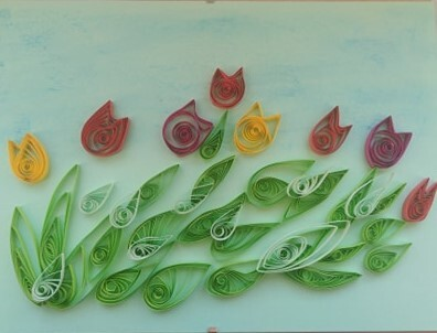 Tulipany – Quilling