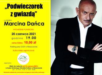 """""""Podwieczorek z Gwiazdą z udziałem Marcina Dańca"""""""