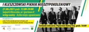 I Kleszczowski Piknik Międzypokoleniowy