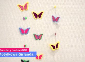 Wiosenne inspiracje: Motylkowa Girlanda